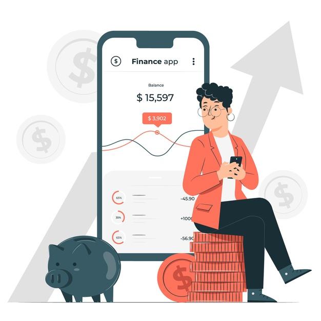 finance-app-concept